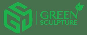 Green Sculpture