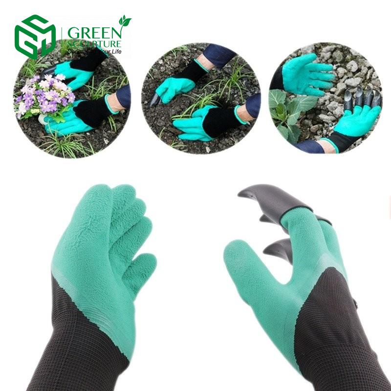 Găng tay làm vườn giúp bảo vệ đôi tay của bạn khỏi đất bẩn, phân bón, gai nhọn ở một số loại cây trồng