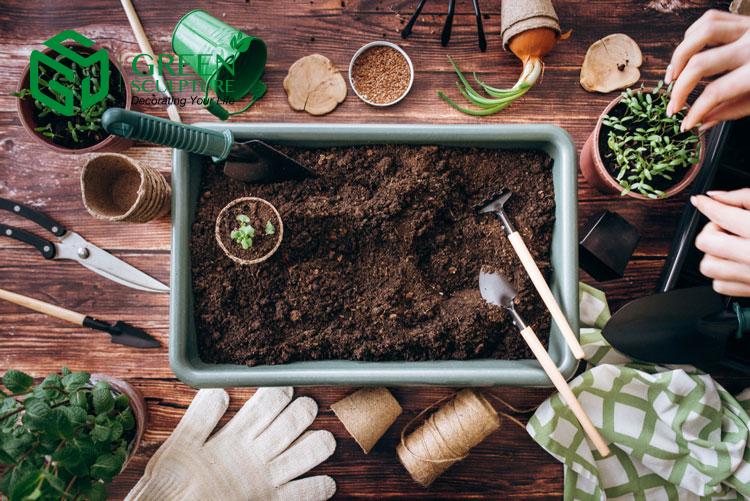 Lợi ích việc sử dụng dụng cụ làm vườn